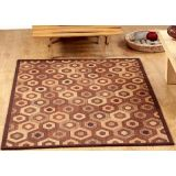 Riviera Home Cheshire  K-183 Hexagon Brown Carpet