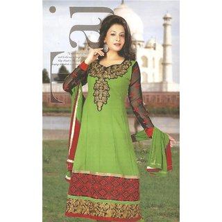 Shivangi's Selective Anarkali Goergette Suit Set (Dress Material) (SS0009)