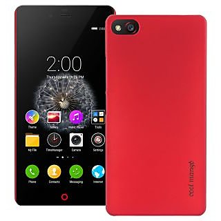 ZTE Nubia Z9 Mini Back Cover / Case - Cool Mango Premium Rubberized Back Cover for ZTE Nubia Z9 Mini - Perfect Red
