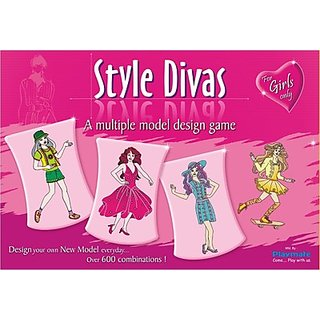 Playmate Style Divas Board Game