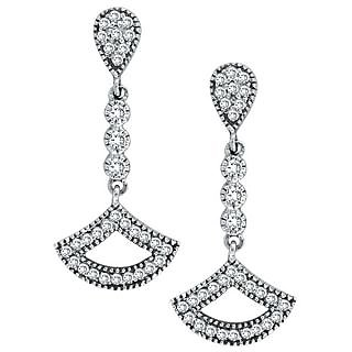 Exclusive Fashionable Diamond Earring For Wedding (Design 58)