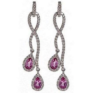 Exclusive Fashionable Diamond Earring For Wedding (Design 71)