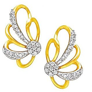 Exclusive Fashionable Diamond Earring For Wedding (Design 74)