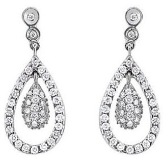 Exclusive Fashionable Diamond Earring For Wedding (Design 85)