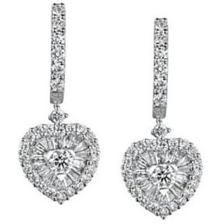 Exclusive Fashionable Diamond Earring For Wedding (Design 88)
