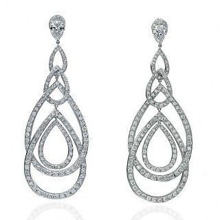 Exclusive Fashionable Diamond Earring For Wedding (Design 103)