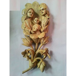 Holley family wood art work