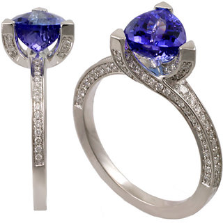Fashionable Exclusive Solitaire Diamond Ring For Party And Wedding (Design 91)