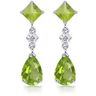 18 Kt Gold Fashionable Exclusive Solitaire Diamond Earring For Wedding Jewelry (Design 20)