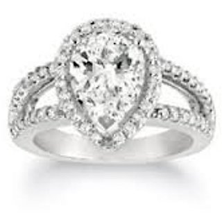 18 Kt Gold Fashionable Exclusive Solitaire Diamond Ring For Wedding Jewelry (Design 8)