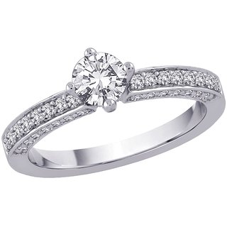 Fashionable Exclusive Solitaire Diamond Ring For Exgagement (Design 18)