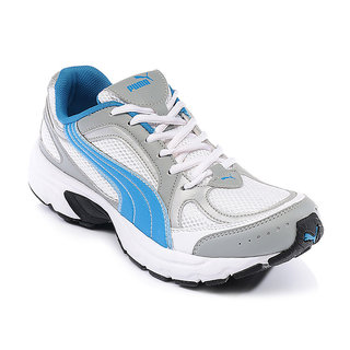 Buy PUMA MEN s WHITE MESH SPORTS RUNNING SHOES Online - Get 20% Off a54c8e251