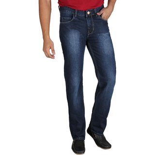 Fever Stylish Denim Jeans For Mens - Blue 10