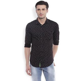 Skie Studio Balck Slim fit Shirts