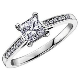 Fashionable Exclusive Princess Diamond Ring For Wedding Jewelry (Design 13)