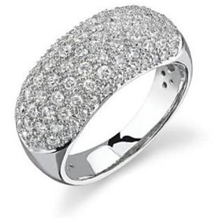Fashionable Exclusive Diamond Ring For Party And Wedding In Gold (Design 2)