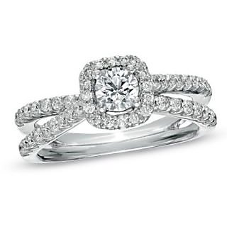 Fashionable Exclusive Solitaire Diamond Ring For Exgagement (Design 17)