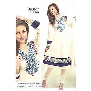 Shivangi's 100% cotton exquisite Anarkali festive wear (Dress Material) SS0059