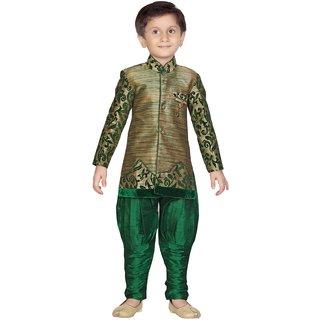 Mahefil Green Kurta Pyjama