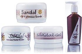 Ayurvedic Skin Brightening Sandal Fairness Pack