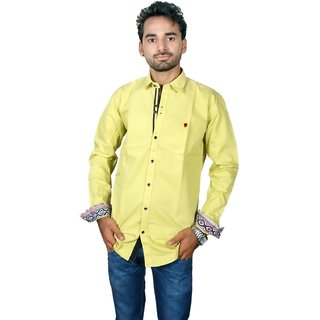 jhon poul cotton satin casual shirt