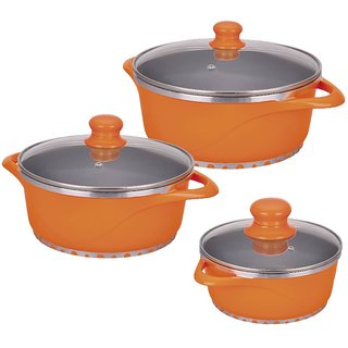 Wonderchef Set of 6Pc-Orange