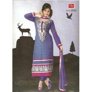 Shivangi's Exquisite Karachi Style Suit Set ( Dress Material) SS0047