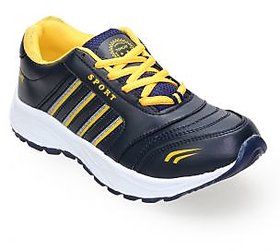 Tomcat Men's Yellow & Navy Running Shoes