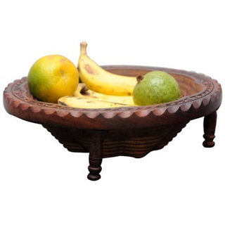Onlineshoppee Company Wooden Fruit & Vegetable Basket