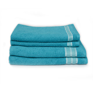 Rich Cottons Luxe Bath Set Aqua