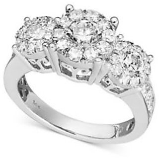 Fashionable Exclusive Diamond Ring For Party And Wedding In Gold (Design 6)