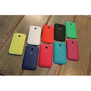 buy popular 7d84e fcc46 genuine Motorola Back Replacement Cover for Moto E (Cherry)