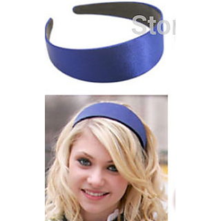 Candy Color Girl Lady Plastic Wide Headband Hair Band Accessory Satin Headwear