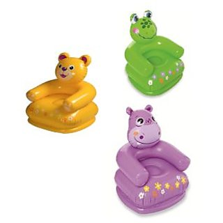 Intex Inflatable Animal Chair (Color May Vary)