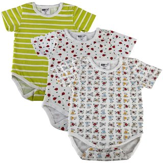 Kotty Baby Sleepsuit  Set Of Three