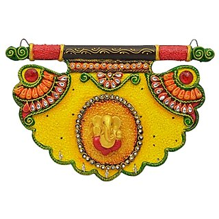 Shiva arts paper mache Key holder