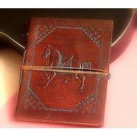 Hand Made Leather Cover  Diary (CPD62)