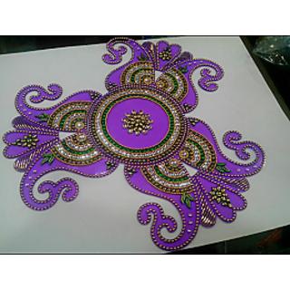 handmade rangoli