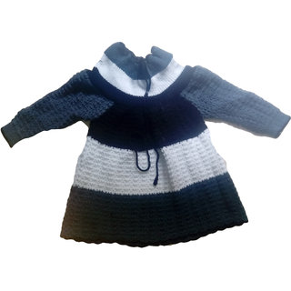 5e6d4ae01 Buy BebzCozzy Multicolour Woolen Full Sleeves Sweater Online - Get 38% Off