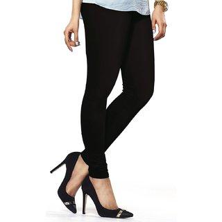 VRD Black Cotton Leggings