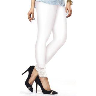 VRD White Cotton Leggings