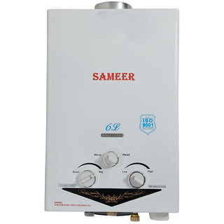Sameer 6L Gas geyser