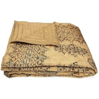 Shop Rajasthan 100 Cotton Jaipuri Lightweight Double Bed Quilt (Srl2003)