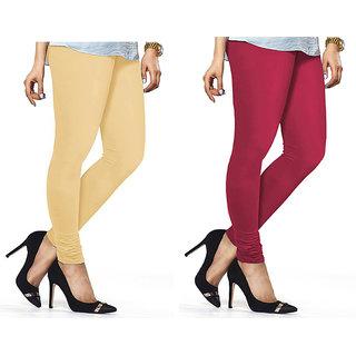 Combo Of Rani  Skin Cotton Leggings
