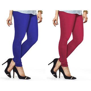 Combo Of Rani  Royal Blue Cotton Leggings
