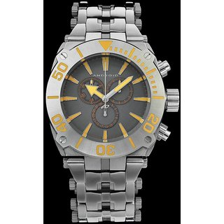 Android Millipede AD571BRG 48MM Chronograph Swiss Quartz Grey Dial S.Steel Watch