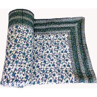 Shop Rajasthan 100 Cotton Jaipuri Lightweight Single Bed Quilt (Srm2074)