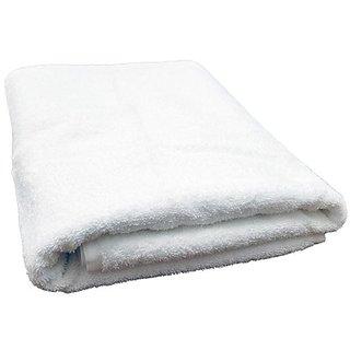 Towel - Bath Towel - Cotton Bath Towels - Solid White Color Bath Towel