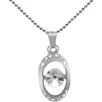 Jewelz silver chain & Round shape pendent