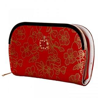 Aafiya red apple clutches